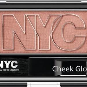 NYC Cheek Glow Powder Blush 654 Outside Cafe
