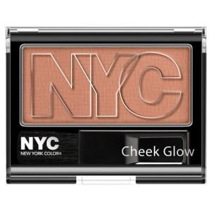 NYC Cheek Glow Powder Blush 656 Sutton Place Peach