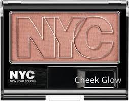 NYC Róz do policzków Check Glow Blush 654